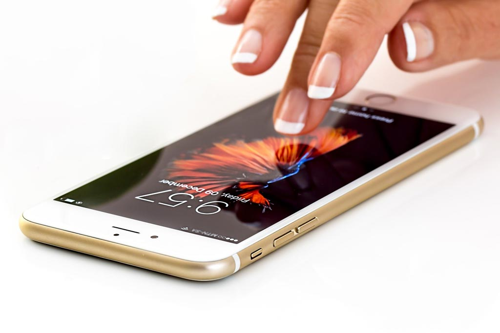 Smartphone - your children will share your phone and share their diseases from their hands